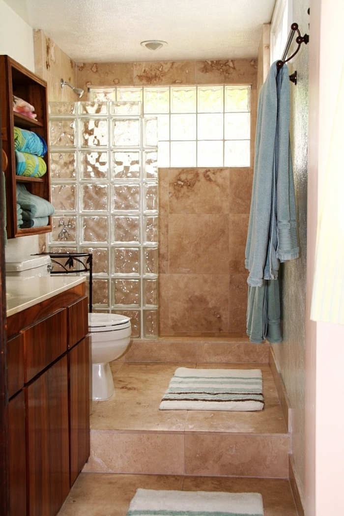 verre salle de bain id e inspirante pour la. Black Bedroom Furniture Sets. Home Design Ideas