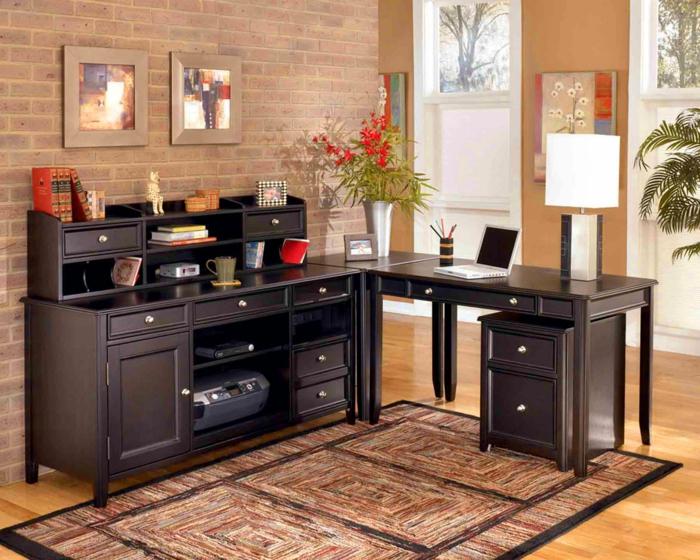 bureau-en-bois-massif-grand-bureau-d'angle-intérieur-compact