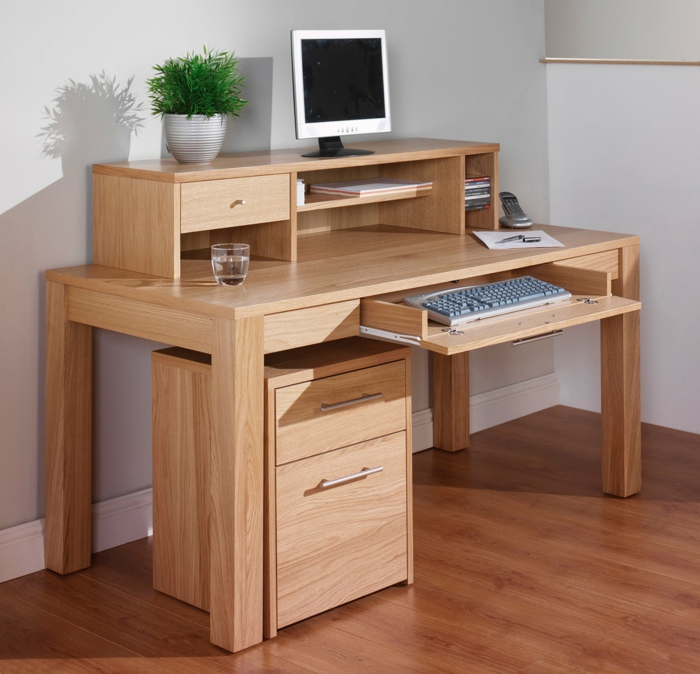 comment fabriquer son bureau en bois id e. Black Bedroom Furniture Sets. Home Design Ideas