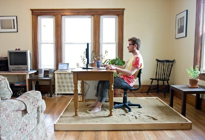 bureau-en-bois-massif-idées-d'office-créatives
