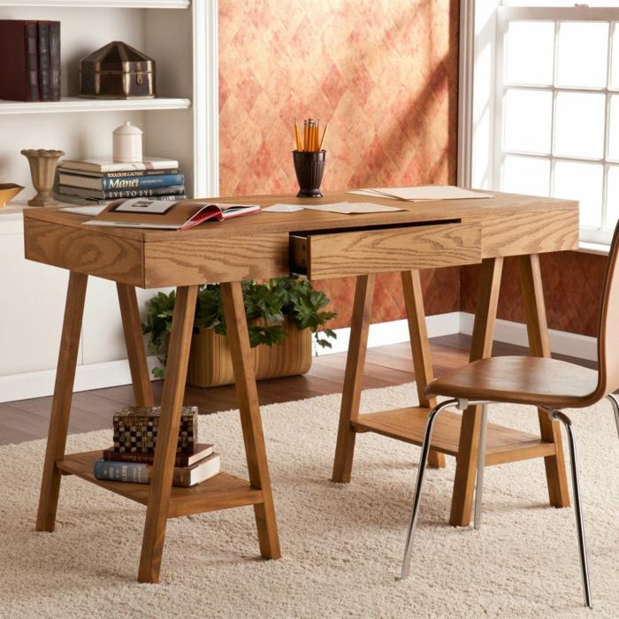 bureau-en-bois-massif-jolis-designs-pour-les-espaces-modernes
