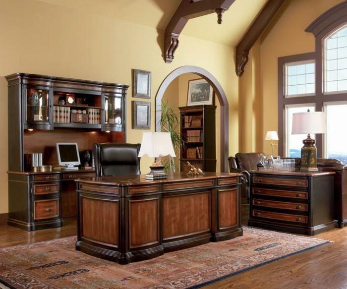 bureau-en-bois-massif-office-style-traditionnel