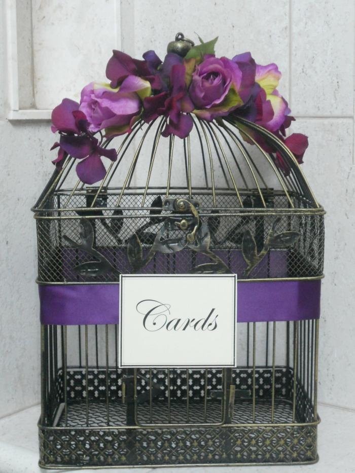 cadeau 1 an de mariage urne mariage coeur - Urne Mariage Cage