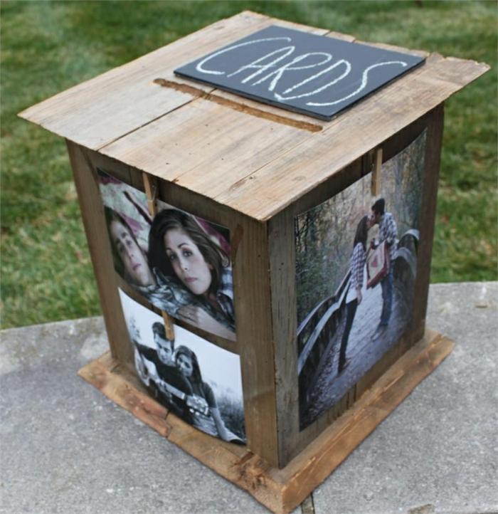 cadeau-1-an-de-mariage-urne-mariage-coeur-comment-faire-photos-boite-décoré