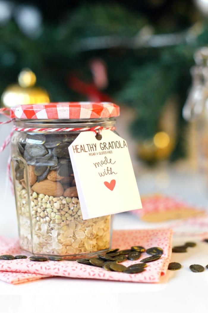 cadeau-pour-belle-mère-idée-granoles-lait-grec-petite-déjeuner-équilibré-faire-soi-meme