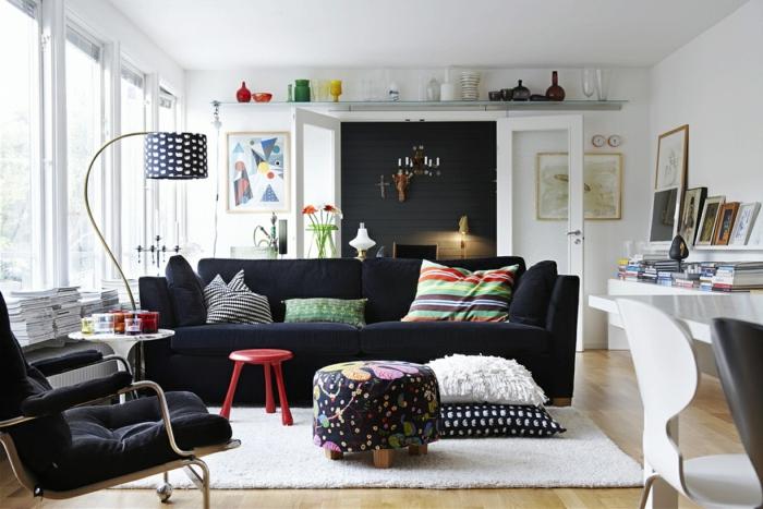 canapé-design-scandinave-chaises-design-scandinave-table-design-scandinave-noir-et-blanc-canapé