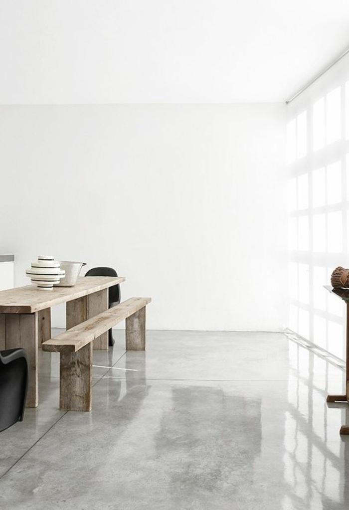 carrelage-effet-beton-dans-la-cuisine-de-style-retro-rustique-minimaliste-murs-blancs
