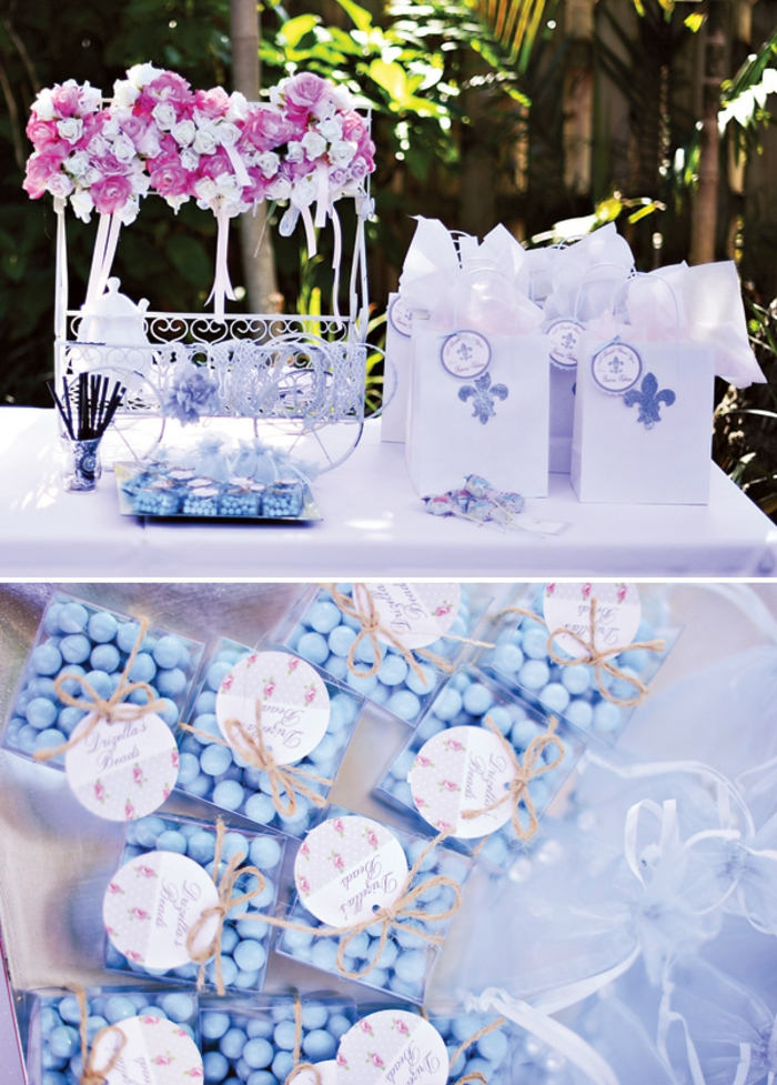 Id es d co inspir es par cendrillon disney - Idee centre de table mariage a faire soi meme ...