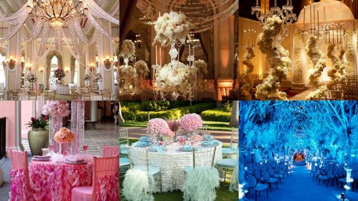 Cendrillon film décoration mariage original idee deco mariage Disney