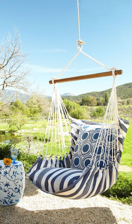 chaise-hamac-balançoire-de-jardin-et-textile