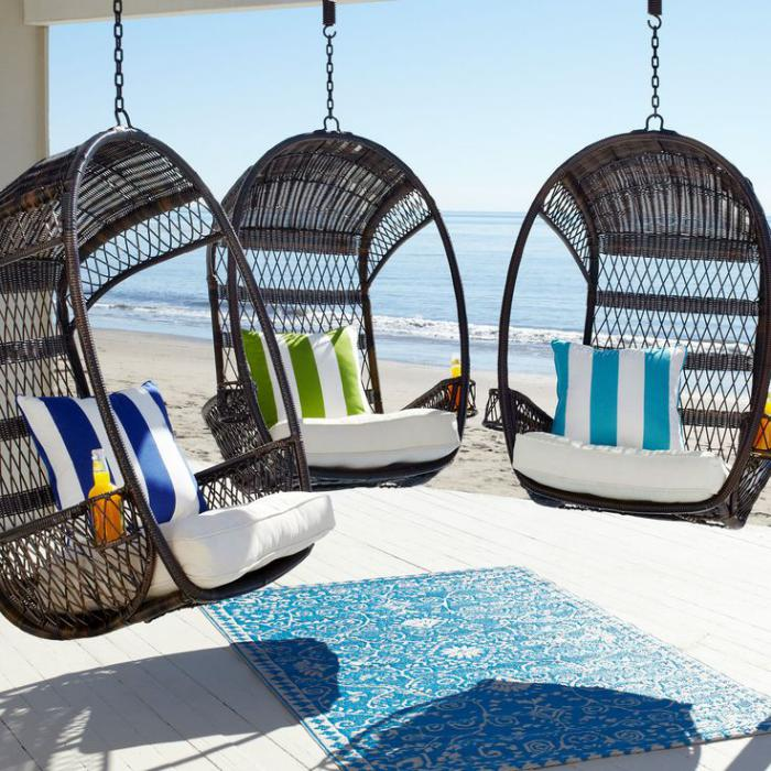 chaise-hamac-chaises-oeufs-avec-coussins-pour-la-plage
