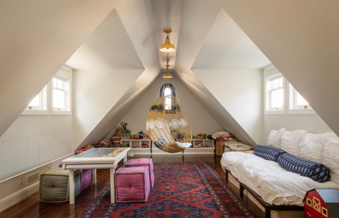 chaise-hamac-puits-de-lumière-loft-attique-boho