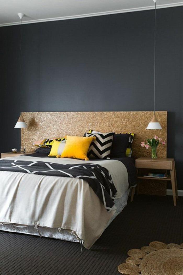 chambre-à-coucher-avec-intérieur-gris-quelle-peinture-satiné-choisir-pour-la-chambre-a-cocuher