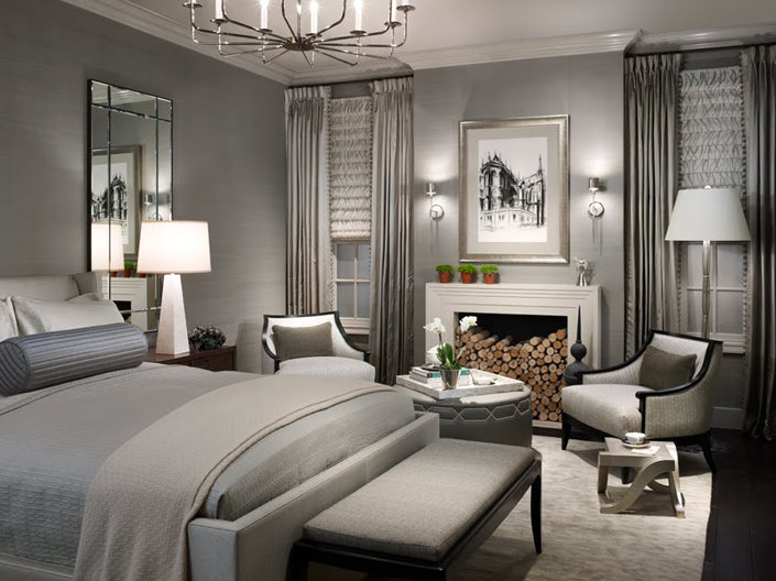 chambre a coucher adulte lit adulte id%C3%A9e d%C3%A9co design d%E2%80%99int%C3%A9rieur am%C3%A9nagement petit espace - How To Decorate A Grey Bedroom