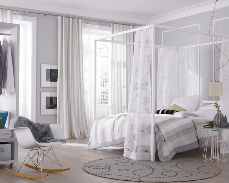 Choisir le meilleur lit adulte 40 belles id es - Belle chambre blanche ...