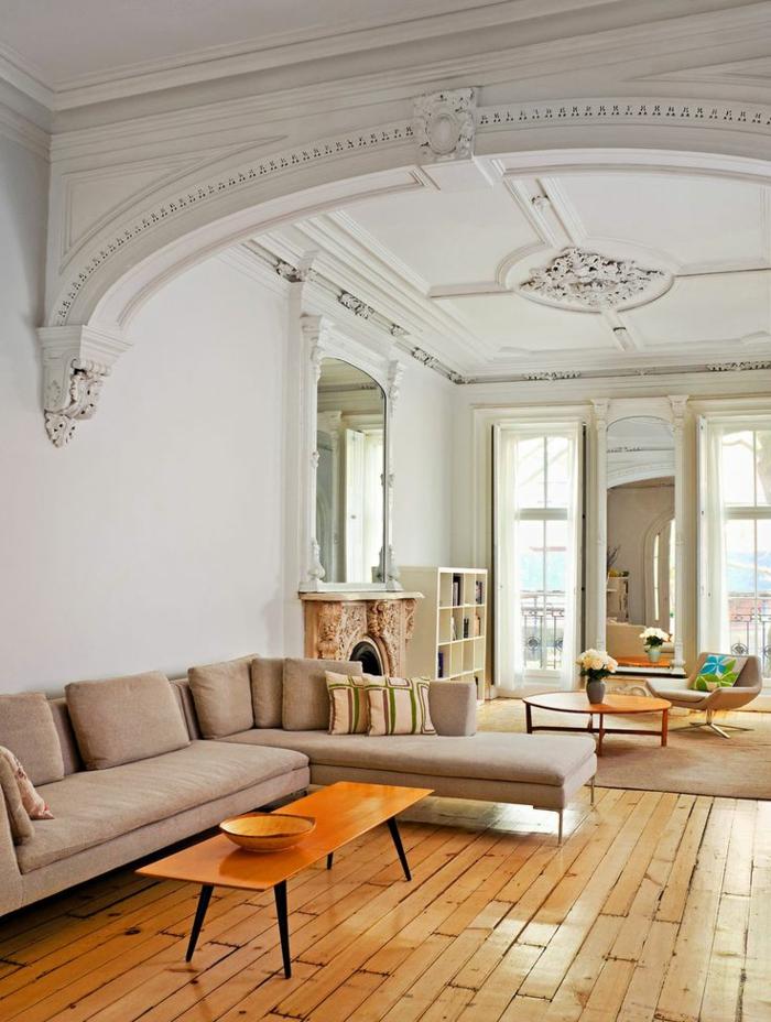 chambre-de-séjour-luxe-de-style-baroque-et-saint-maclou-parquet-avec-fenetres-grandes