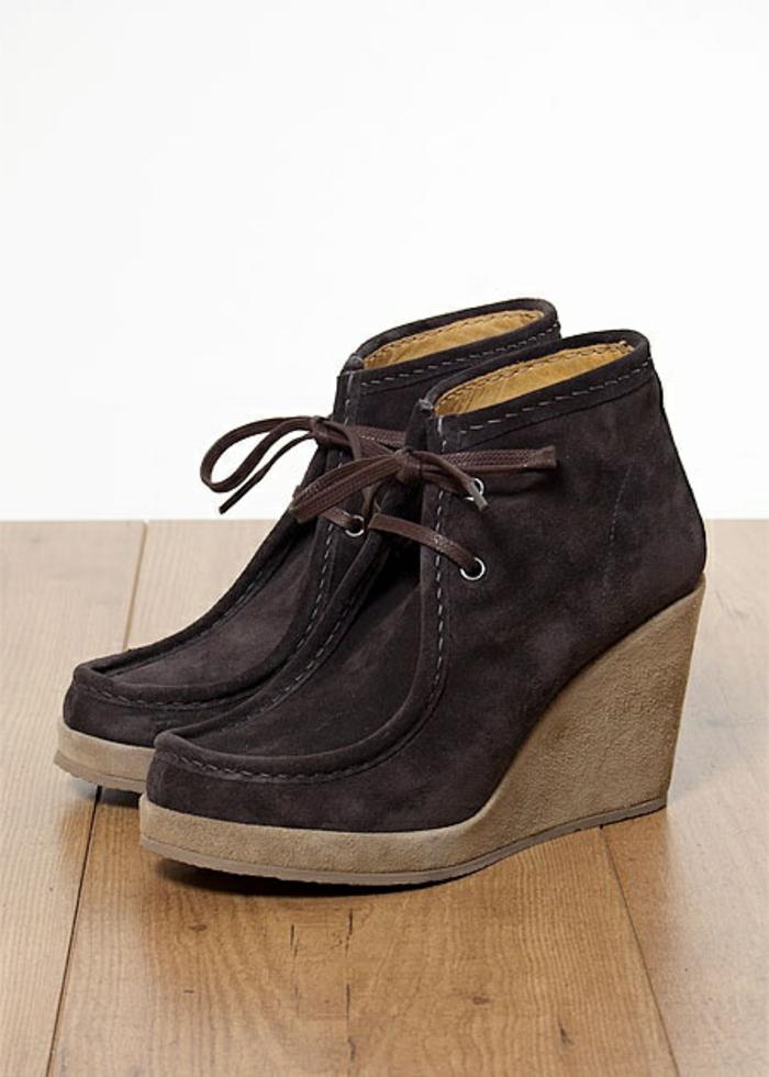 chaussures-compensées-mocassins-marron