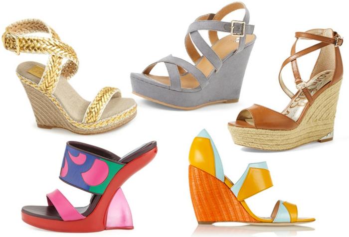 510eac77ca5c58 Les chaussures compensées - un must have pour la femme moderne ...
