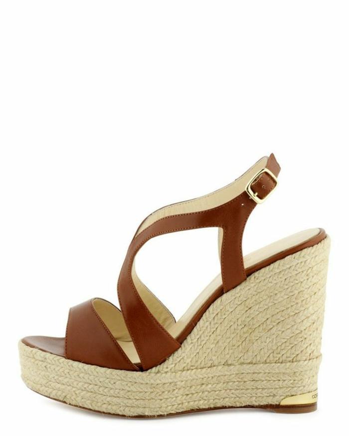 chaussures-compensées-sandales-compensées-mode-pratique