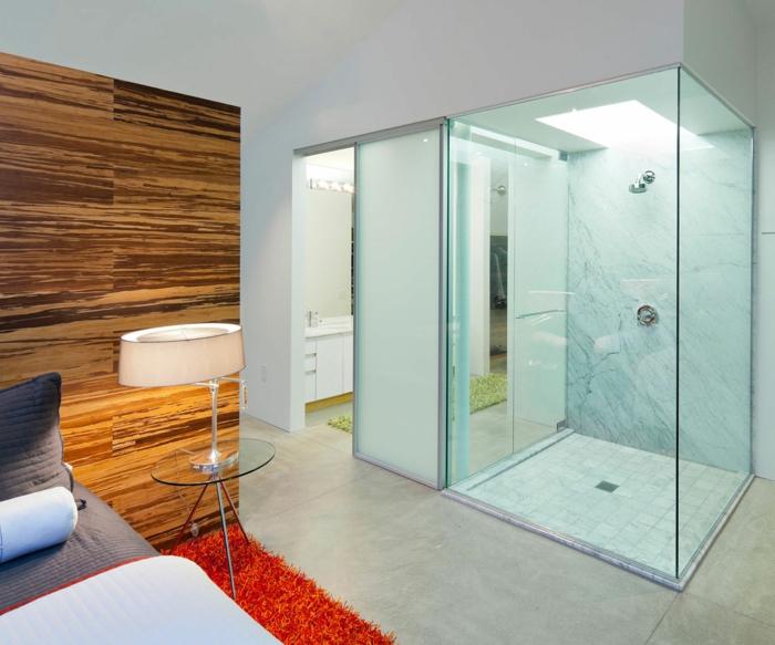 cloison-en-verre-décoration-originale-d'intérieur-cabine-de-douche-transparente