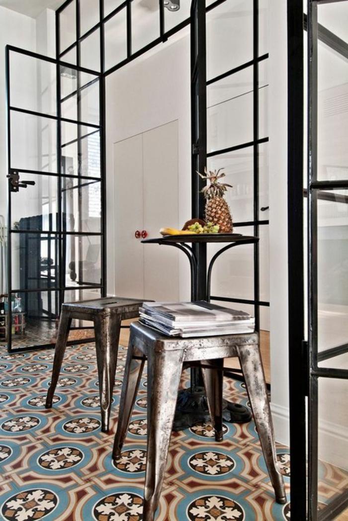 La cloison en verre est un moyen l gant d 39 organiser l for Cloison metallique vitree