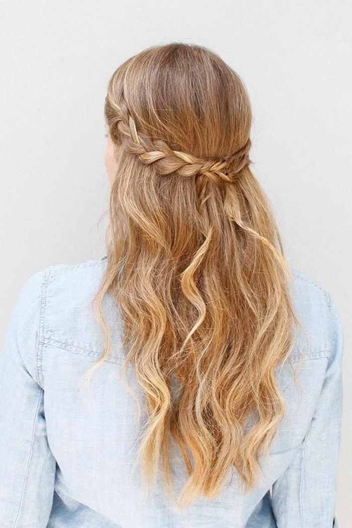 Прически на длинные волосы распущенные волосы