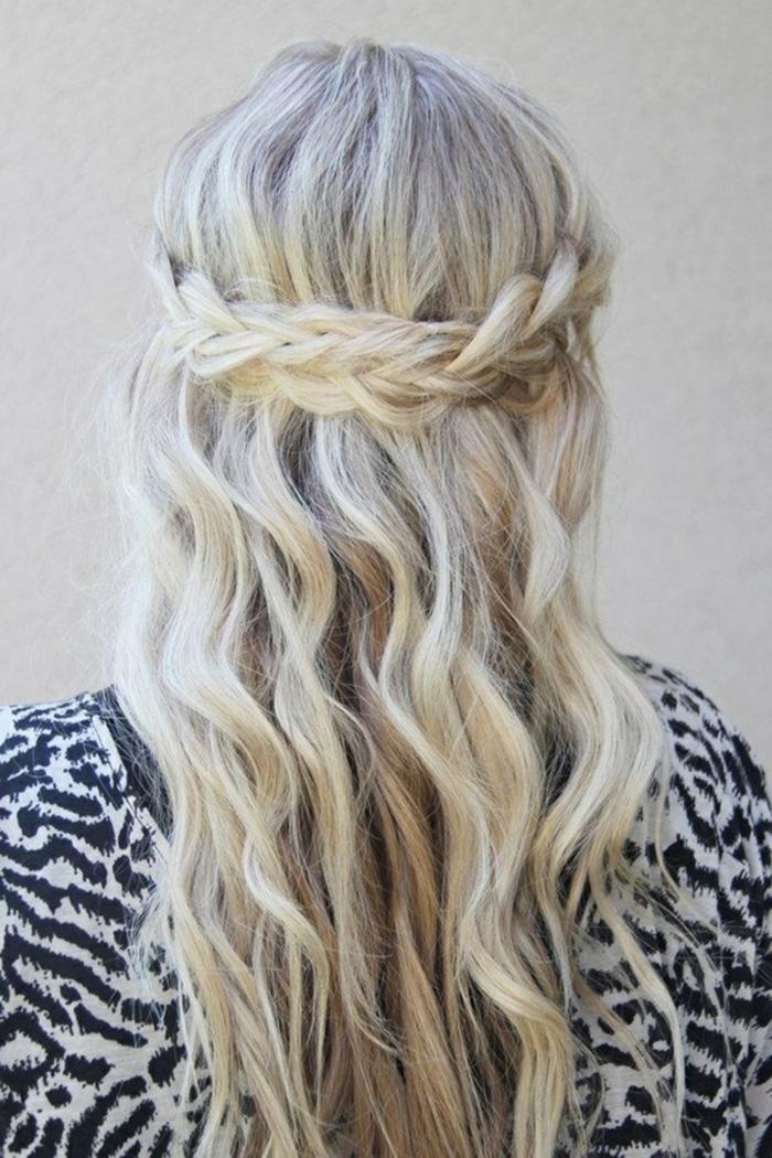 coiffure-avec-tresse-cool-boho-style-de-coiffure