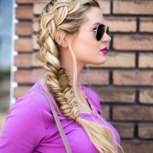 La coiffure avec tresse - mille et une variantes pour être belle