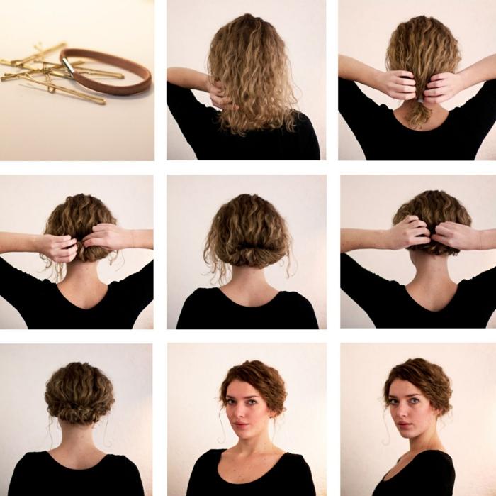 coiffure-mariage-cheveux-mi-long-idée-coiffure-coupe-mi-longue-cheveux-bouclés-resized