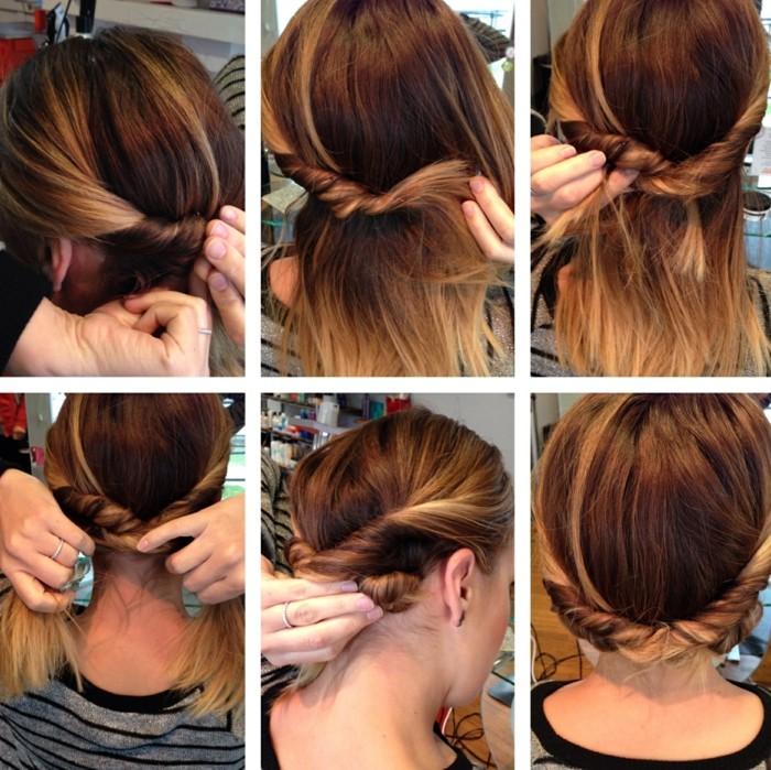 Comment faire des coiffure sur cheveux long