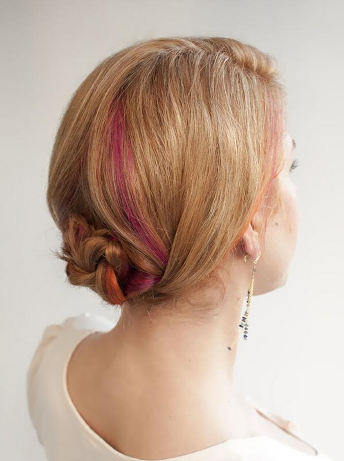 coiffure-mariage-cheveux-mi-long-idée-coiffure-coupe-mi-longue-femme-blonde-balayage-rose-resized