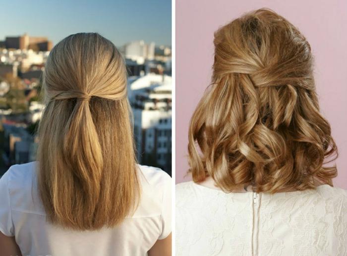 coiffure-mariage-cheveux-mi-long-idée-coiffure-coupe-mi-longue-femme-coiffure-resized