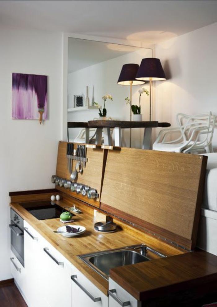 comment-bien-aménager-une-cuisine-en-bois-clair-meubles-en-bois-pour-la-cuisine
