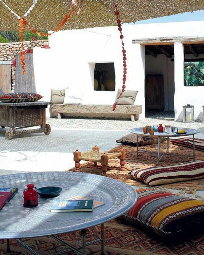 comment-bien-choisir-le-tapis-d-extérieur-dans-le-jardin-moderne-avec-tapis-d-extérieur-colore