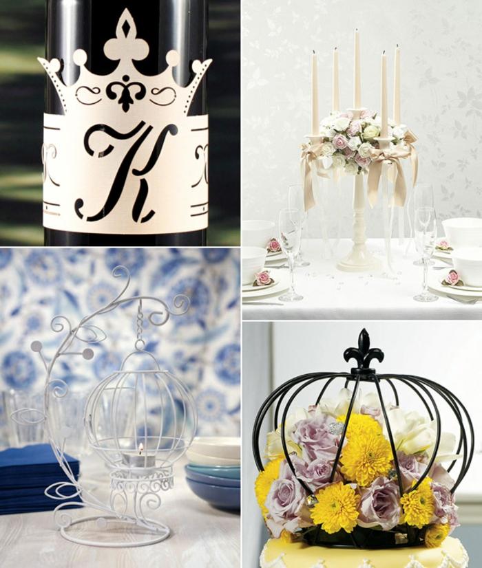 couronne-déco-cendrillon-film-décoration-mariage-original-idee-deco-mariage-Disney