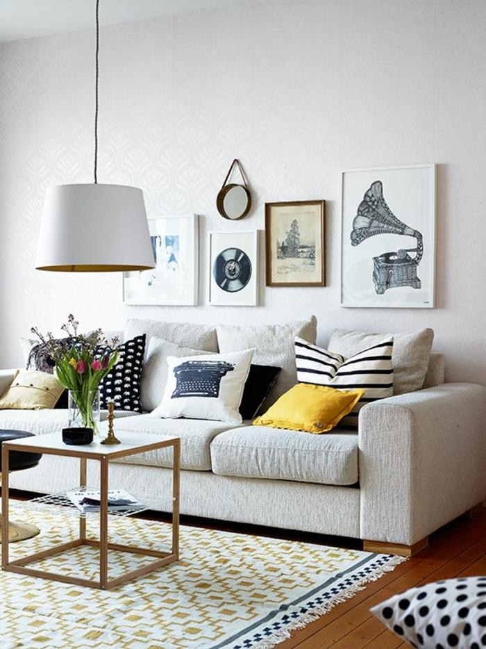 les coussins design 50 id es originales pour la maison. Black Bedroom Furniture Sets. Home Design Ideas