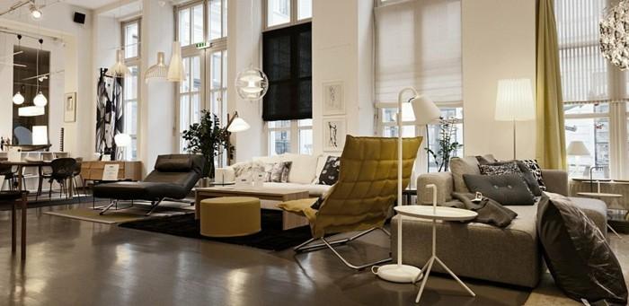 cuisine-scandinave-idées-déco-design-intérieur-decoration-scandinave-aménagement-salon-vert-et-blanc