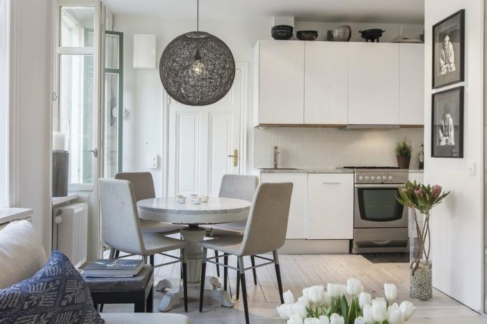 cuisine-scandinave-idées-déco-design-intérieur-decoration-scandinave-table-ronde