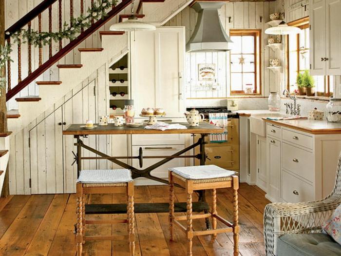 La cuisine style campagne d cors chaleureux vintage - Keuken geesten campagne ...