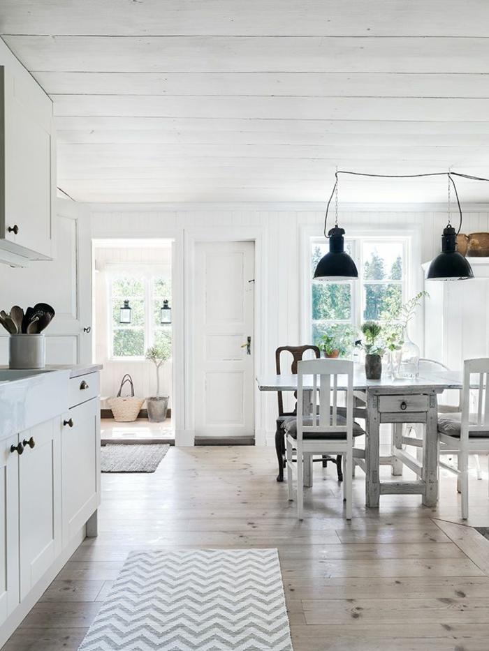 la cuisine style campagne d233cors chaleureux vintage