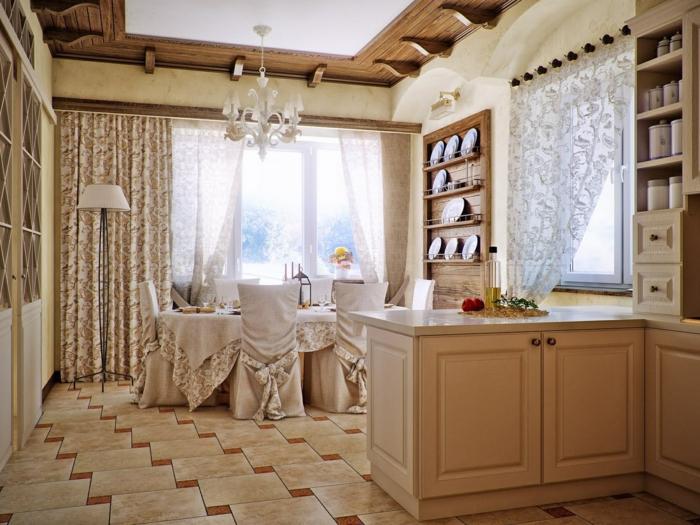 cuisine-style-campagne-jolie-cuisine-en-beige-esprit-vintage