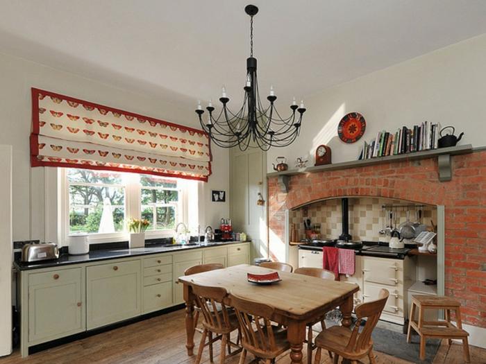 La cuisine style campagne d cors chaleureux vintage - Maison style campagne ...
