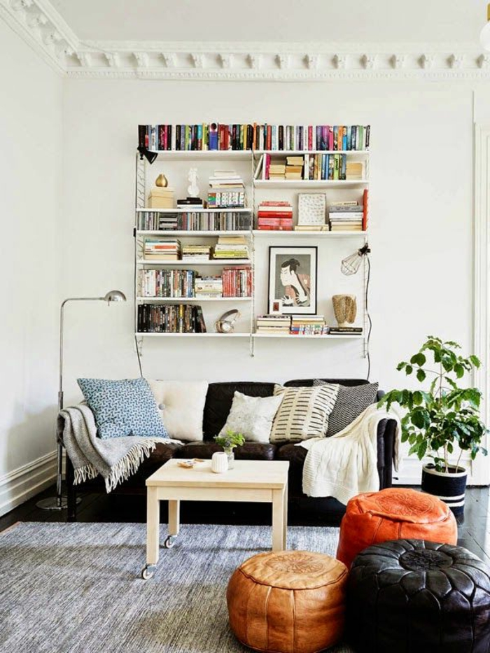 deco-nordique-avec-meuble-suedois-et-tapis-scandinave-gris-meubles-noires