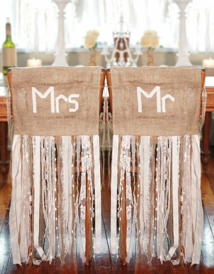 decoration chaise mariage pas cher hausse de chaise - Deco Chaise ...