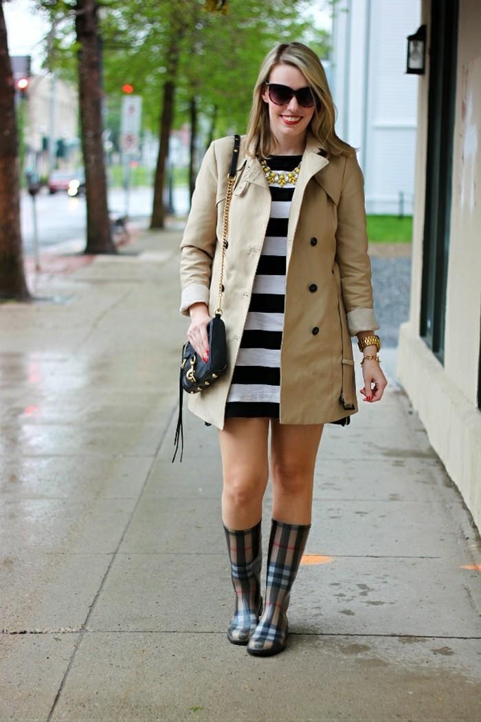 des-bottes-de-pluie-femme-bottes-originales-tenue-hiver-chaussures-burberry