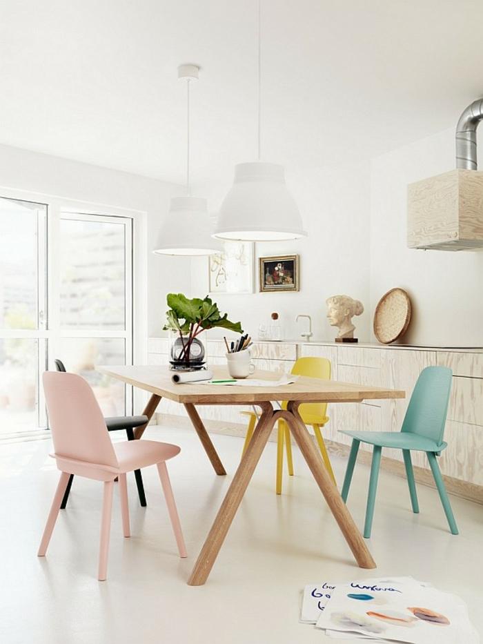design-scandinave-meuble-scandinave-décoration-scandinave-chaises-salle-à-manger-ikea