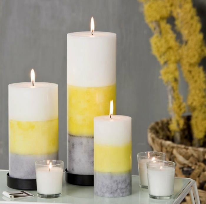 diptyque-bougie-fabriquer-bougie-parfumée-chauffe-plat-bougie-jaune-blanc-gris