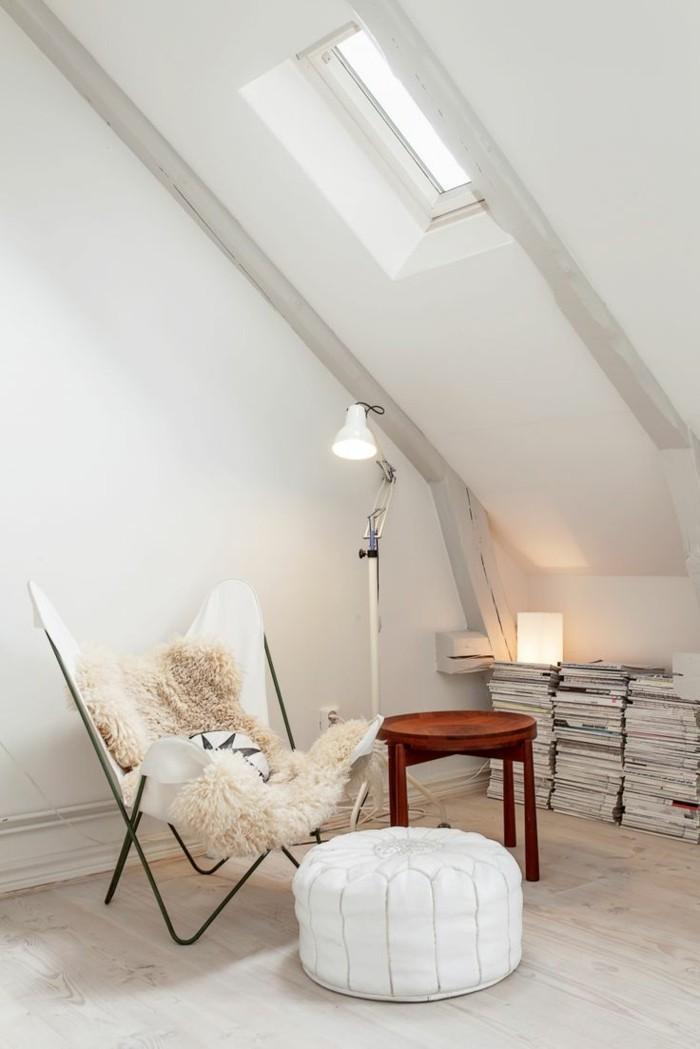 fauteuil club cuir blanc maison design. Black Bedroom Furniture Sets. Home Design Ideas