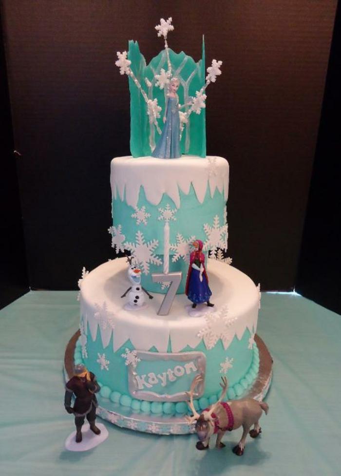 gâteau-pour-l-anniversaire-de-votre-file-avec-elsa-frozen-decors-gateaux-anniversaire-étages