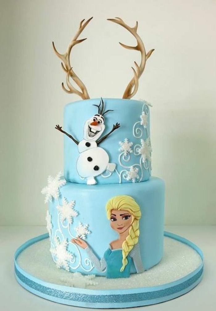 gateau-reine-des-neiges-pate-a-sucre-gâteau-la-reine-des-neiges-comment-faire-elsa